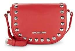 Love Moschino Studded Mini Saddle Bag