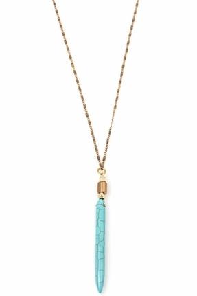 Vanessa Mooney Oleda Necklace in Turquoise