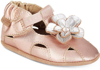 Robeez Pretty Pansy Sandals, Baby Girls (0-4)