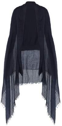 Bless Cashmere Overlay Cotton Cardigan - Mens - Dark Blue