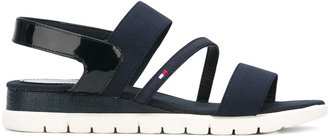 Tommy Hilfiger straped sandals $86.80 thestylecure.com