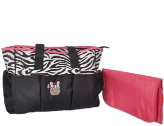 "Baby Boom Babyboom ""Baby Zebra"" Diaper Tote Bag"