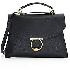 Salvatore Ferragamo Women's Medium Gancini Leather Top Handle Bag