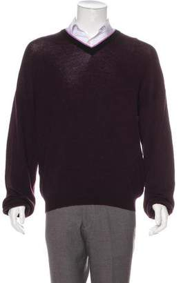 Lanvin Wool V-Neck Sweater w/ Tags