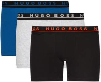 BOSS Logo Boxer Briefs (Pack of 3)
