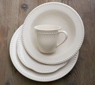 Pottery Barn Emma Soup Bowl - White