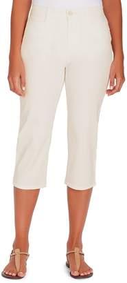 Gloria Vanderbilt Women's Amanda High-Waisted Trouser Capris