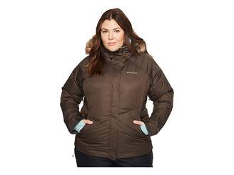Columbia Plus Size Lay D Downtm Jacket Women's Coat