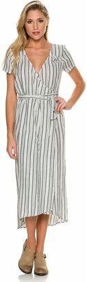Billabong Right Side Midi Wrap Dress $59.95 thestylecure.com