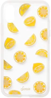 Sonix Lemon Print iPhone X Case