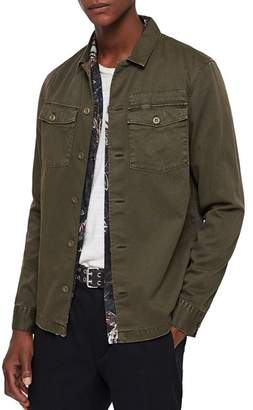 AllSaints Spotter Military Shirt Jacket