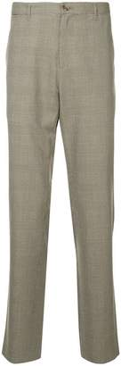A.P.C. checked print loose trousers