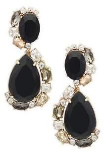 Carolee Cubic Zirconia Double Teardrop Earrings