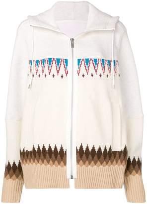 Sacai hooded sweater