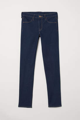 H&M Skinny Regular Ankle Jeans - Blue