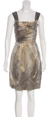 Diane von Furstenberg Sleeveless Knee-Length Evening Dress