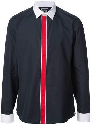 Kenzo contrast stripe shirt
