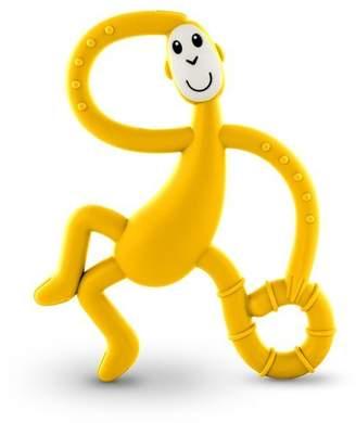 Matchstick Monkey Dancing Monkey Teether, YELLOW
