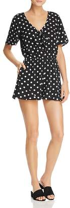 Band of Gypsies Polka Dot-Print Romper