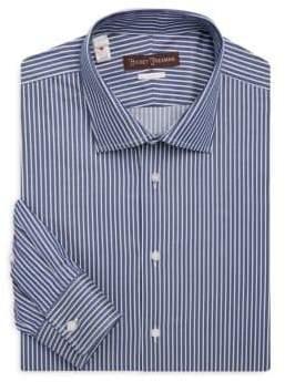 Hickey Freeman Classic-Fit Cotton Dress Shirt
