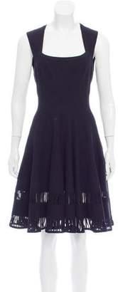 Alaia Virgin Wool-Blend Dress