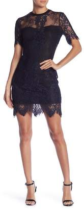 Romeo & Juliet Couture Lace Mini Dress