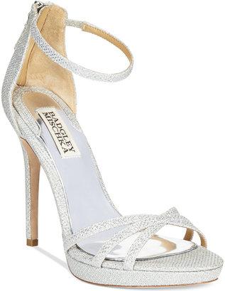 Badgley Mischka Signify Evening Sandals $195 thestylecure.com