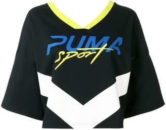 Puma cropped Sport T-shirt