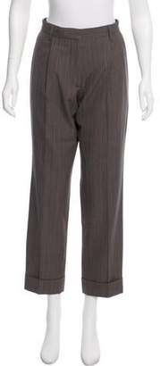 Dries Van Noten Mid-Rise Straight-Leg Pants w/ Tags