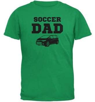 Old Glory Fathers Day Soccer Dad Irish Green Adult T-Shirt
