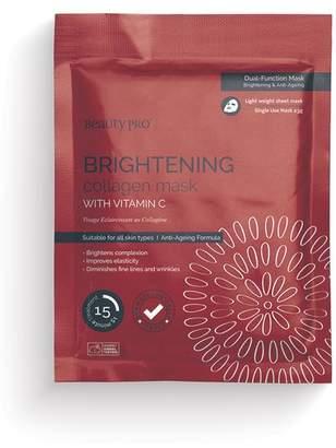 BeautyPRO Brightening Collagen Mask