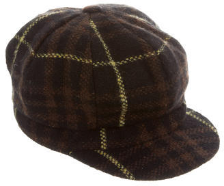 Burberry  Burberry Wool Plaid Hat
