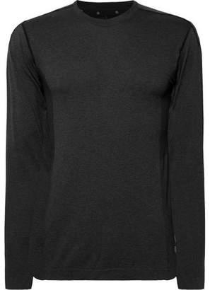 Reigning Champ Performance Mesh-Panelled Mélange Jersey T-Shirt