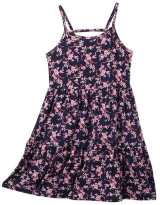 Harper Canyon Tiered Strappy Dress (Big Girls)
