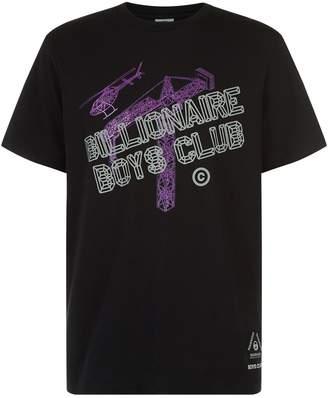 Billionaire Boys Club Glitter Construction Print T-Shirt