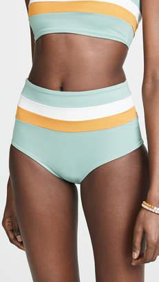 L-Space Portia Stripe Reversible Bikini Bottoms