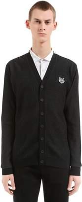 Kenzo Cotton Blend Knit Cardigan
