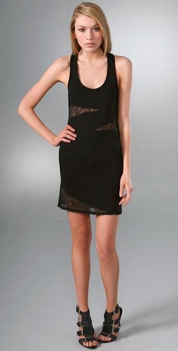 Mason By Michelle Mason Tank Dress with Lace