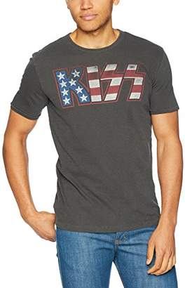 Lucky Brand Men's KISS American Flag Graphic TEE