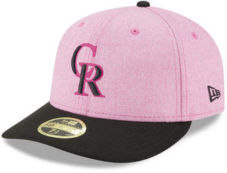 New Era Colorado Rockies Mothers Day Low Profile 59Fifty Fitted Cap