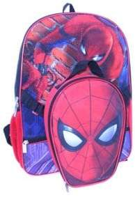 Nickelodeon Spiderman Backpack & Lunch Bag Set