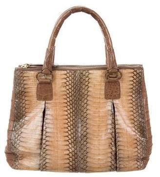 Nancy Gonzalez Mini Plissé Crossbody Bag