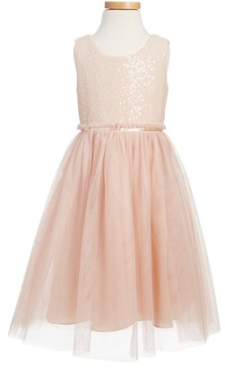 Toddler Girl's Jenny Yoo Collection 'Rosalie' Sequin & Tulle Dress $190 thestylecure.com