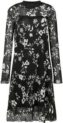 See by Chloe floral print midi dress