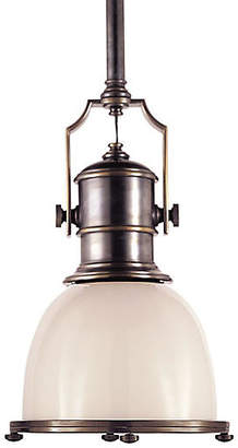 Visual Comfort & Co. Country Industrial Pendant - Bronze