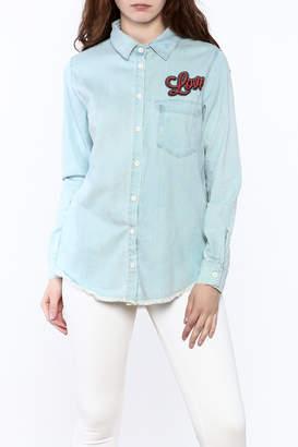 Lauren Moshi Denim Work Shirt
