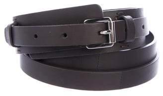 Christian Dior Leather Waist Belt