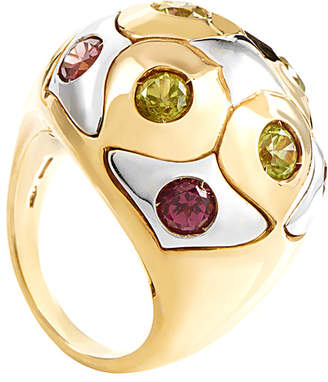 Bulgari Heritage  18K Two-Tone Gemstone Ring