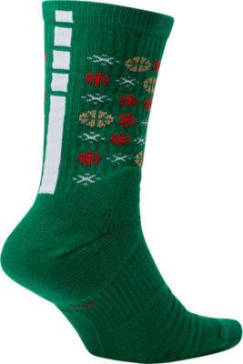 Nike Unisex Elite Christmas 1.5 Crew Basketball Socks