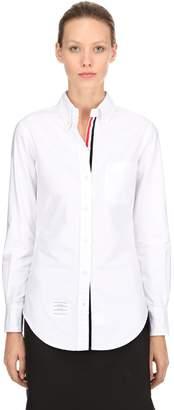 Thom Browne Cotton Oxford Shirt